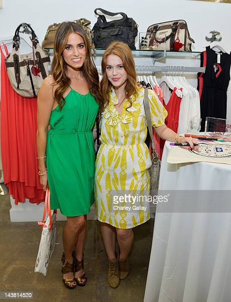 Actresses Nikki Reed and Holland Roden attend GEORGE GINA LUCY'S 'Originals Collection' launch benefiting Heal The Bay at Fred Segal Santa Monica on...