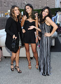 Actresses Nikki Reed Jordana Brewster and Jenna Dewan wearing Parker clothing and Stella and Bow jewelry attend The Launch of Parker on Spring at The...