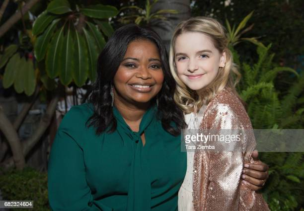 Actresses Octavia Spencer and Mckenna Grace attend ARTWORXLA's 25th Anniversary Gala 'An Evening Of Art' at Taglyan Cultural Complex on May 11 2017...