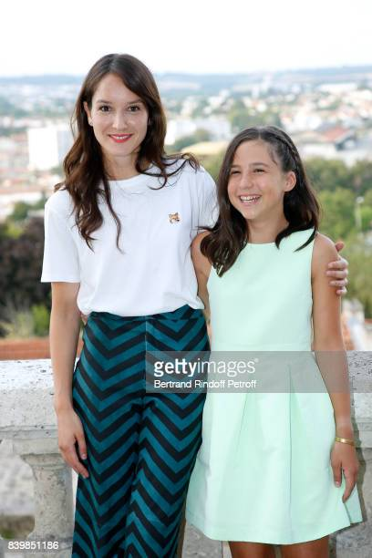 Actresses of the movie ' Demain et tous les autres jours' Anais Demoustier and Luce Rodriguez attend the 10th Angouleme FrenchSpeaking Film Festival...