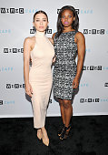 'POWERS' actresses Olesya Rulin and Susan Heyward attend WIRED Cafe at Comic Con 2015 in San Diego at Omni Hotel on July 9 2015 in San Diego...
