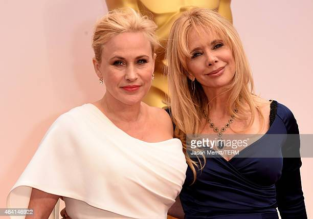 Actresses Patricia Arquette and Rosanna Arquette attend the 87th Annual Academy Awards at Hollywood Highland Center on February 22 2015 in Hollywood...