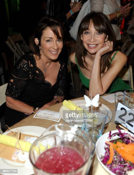 Actresses Patricia Heaton and Illeana Douglas attend the Children Mending Hearts 3rd Annual 'Peace Please' Gala held at The Music Box at the Fonda...