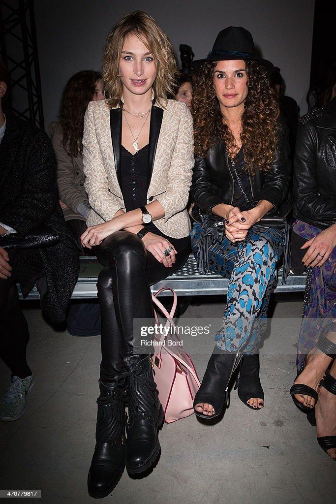 Zadig & Voltaire : Front Row  - Paris Fashion Week Womenswear Fall/Winter 2014-2015