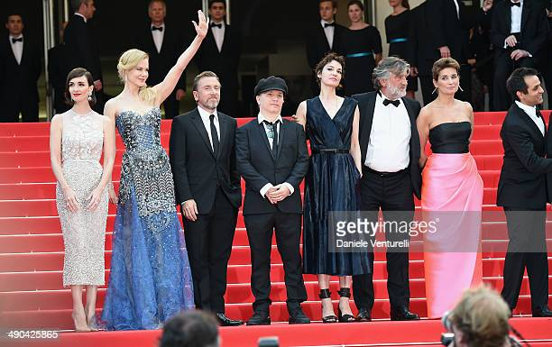 Actresses Paz Vega Nicole Kidman actor Tim Roth director Olivier Dahan Jeanne Balibar Pierre Ange Le Pogam Geraldine Somerville and Arash Amel attend...