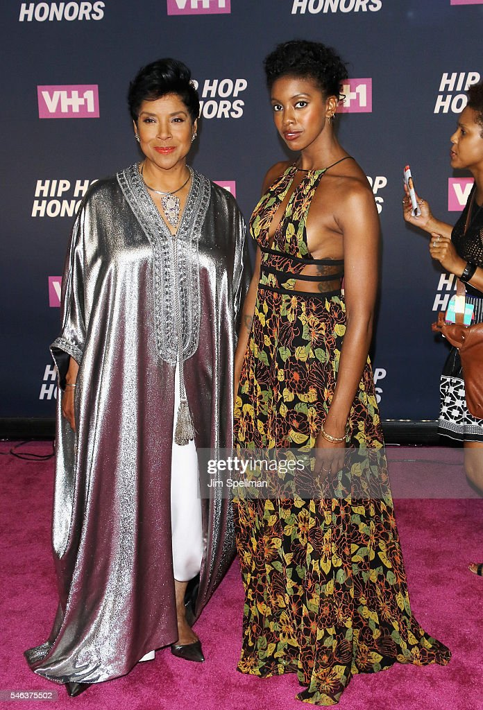 Actresses Phylicia Rashad and Condola Rashad attend the 2016 VH1 Hip Hop Honors All Hail The Queens at David Geffen Hall on July 11 2016 in New York...