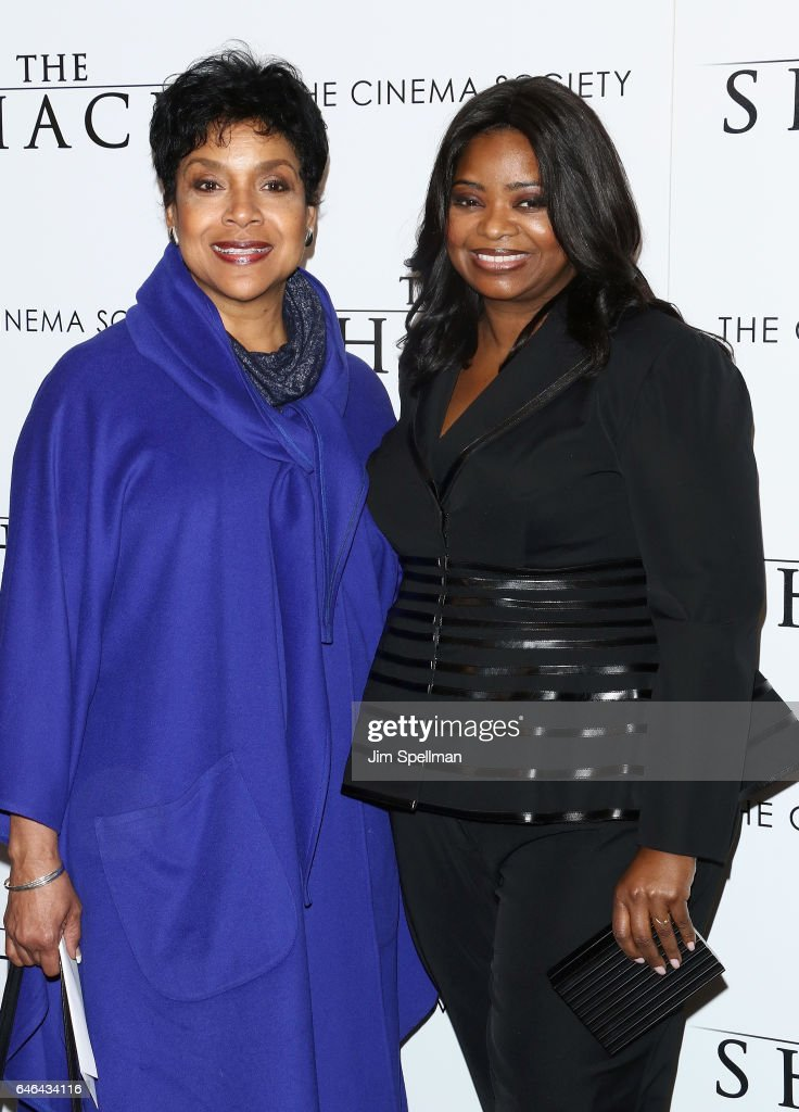 Actresses Phylicia Rashad and Octavia Spencer attend the world premiere of 'The Shack' hosted by Lionsgate at Museum of Modern Art on February 28, 2017 in New York City.