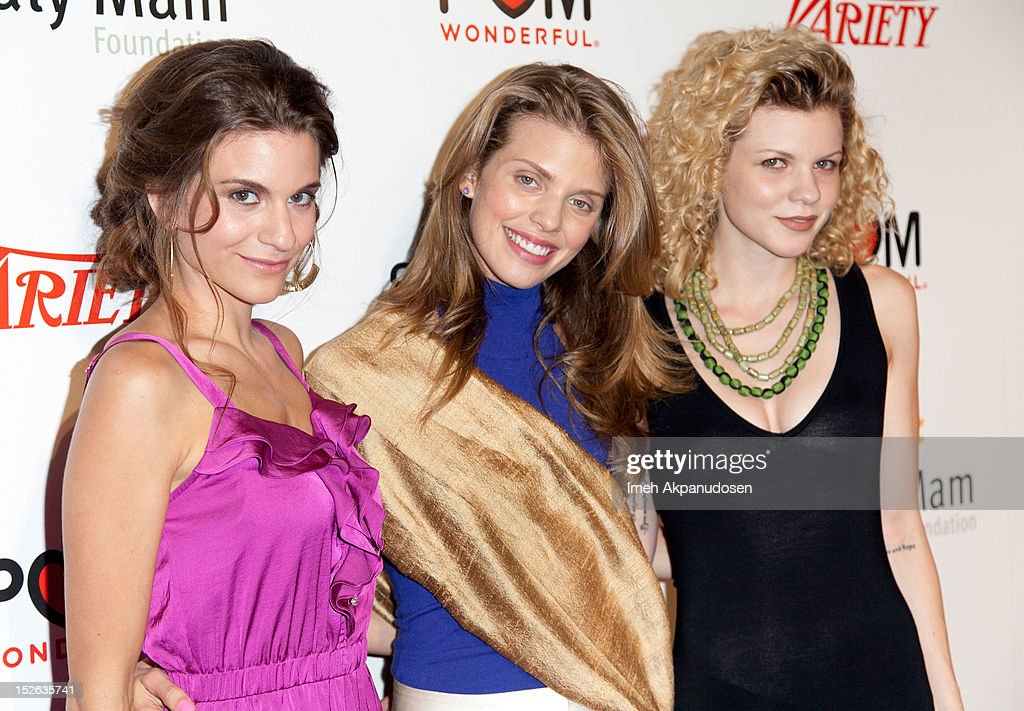 Actresses <a gi-track='captionPersonalityLinkClicked' href=/galleries/search?phrase=Rachel+McCord&family=editorial&specificpeople=5502448 ng-click='$event.stopPropagation()'>Rachel McCord</a>, <a gi-track='captionPersonalityLinkClicked' href=/galleries/search?phrase=AnnaLynne+McCord&family=editorial&specificpeople=4070122 ng-click='$event.stopPropagation()'>AnnaLynne McCord</a>, and <a gi-track='captionPersonalityLinkClicked' href=/galleries/search?phrase=Angel+McCord&family=editorial&specificpeople=4586692 ng-click='$event.stopPropagation()'>Angel McCord</a> attend a 'Life Is Love' event benefitting The Somaly Mam Foundation on September 22, 2012 in Los Angeles, California.