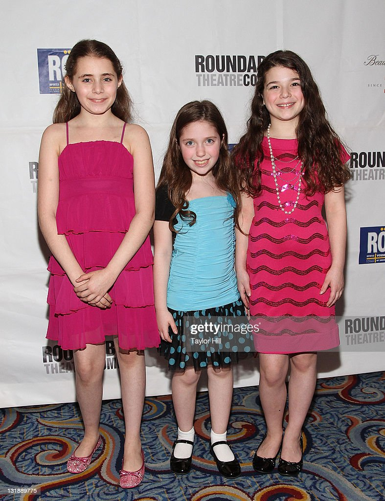 Actresses Rachel Resheff, Andie Mechanic, and Maya Goldman attend the after party for the Broadway opening night of 'The People in the Picture' at Marriot Marquis on April 28, 2011 in New York City.