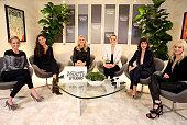 Actresses Sarah Michelle Gellar Alexa Davalos Malin Akerman Taylor Schilling Lizzy Caplan and Anna Faris attend Variety Awards Studio Day 1 at the...