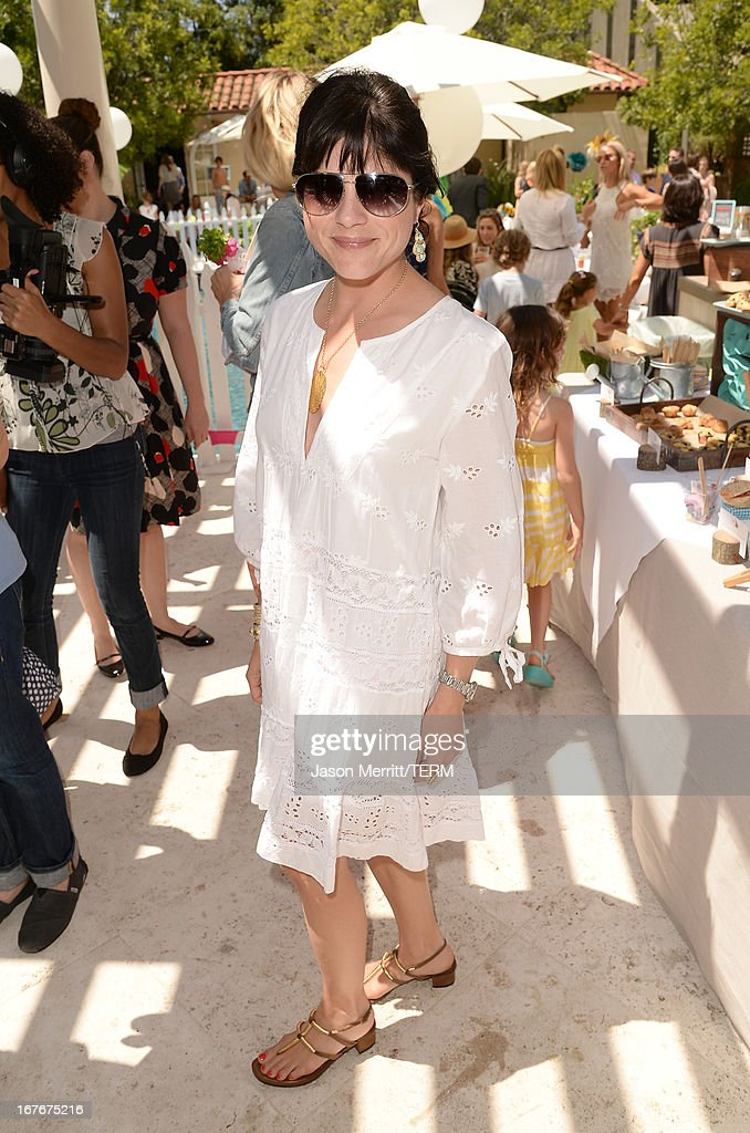 Actresses Selma Blair attend the Huggies Snug & Dry and Baby2Baby Mother's Day Garden Party held on April 27, 2013 in Los Angeles, California.