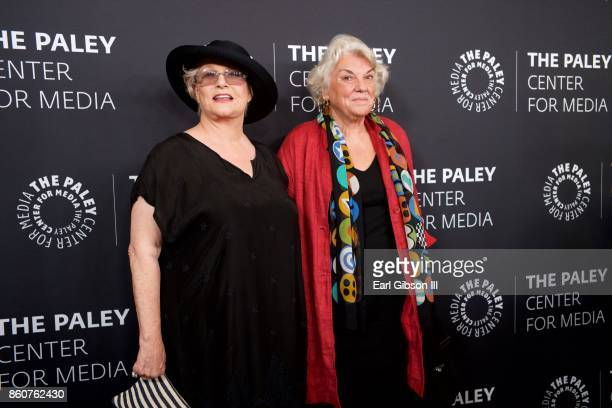 Actresses Sharon Gless and Tyne Daly attend Paley Honors In Hollywood A Gala Celebrating Women In Television at the Beverly Wilshire Four Seasons...