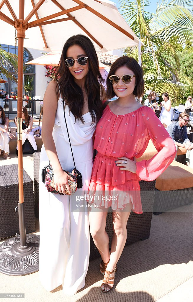 Actresses Shay Mitchell and Lucy Hale attend Children Mending Hearts 7th Annual Fundraiser Presented By Material Girl And Michael Stars on June 14...