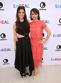 Actresses Shiri Appleby and Constance Zimmer attend the Lifetime 'UnREAL' Group Date and Champagne Brunch Aboard Dandeana Yacht With Cast and...