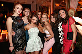 Actresses Sophie Turner Maisie Williams and Sophia Bush with guests attend Entertainment Weekly's celebration honoring the 2015 SAG awards nominees...