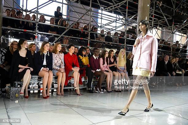 Actresses Stacy Martin Adele Exarchopoulos Lea Seydoux Margot Robbie singer Rihanna actresses Lupita Nyong'o Elizabeth Olsen Bella Heathcote and Elle...