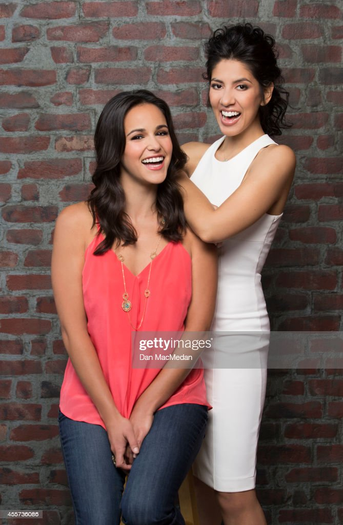 Actresses <a gi-track='captionPersonalityLinkClicked' href=/galleries/search?phrase=Stephanie+Beatriz&family=editorial&specificpeople=5809979 ng-click='$event.stopPropagation()'>Stephanie Beatriz</a> and <a gi-track='captionPersonalityLinkClicked' href=/galleries/search?phrase=Melissa+Fumero&family=editorial&specificpeople=5616782 ng-click='$event.stopPropagation()'>Melissa Fumero</a> are photographed for USA Today Hispanic Living on May 22, 2014 in Los Angeles, California.