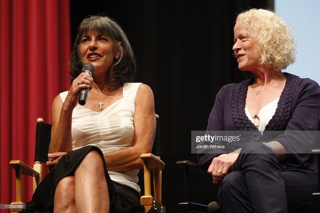 Actresses Susan Sosa (L) and Lynn Baker Pitoun attend the 2009 Los Angeles Film Festival's HD restored 'Billy Jack' screening sponsored by People at the Billy Wilder Theater at The Hammer Museum June 21, 2009 in Westwood, California.