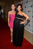 Actresses Teri Polo and Sherri Saum attends the 25th Annual GLAAD Media Awards at The Beverly Hilton Hotel on April 12 2014 in Los Angeles California