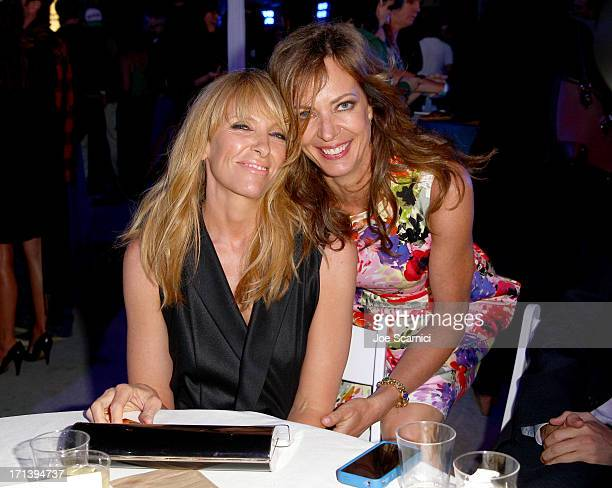 Actresses Toni Collette and Allison Janney attend 'The Way Way Back' premiere after party sponsored by DIRECTV during the 2013 Los Angeles Film...