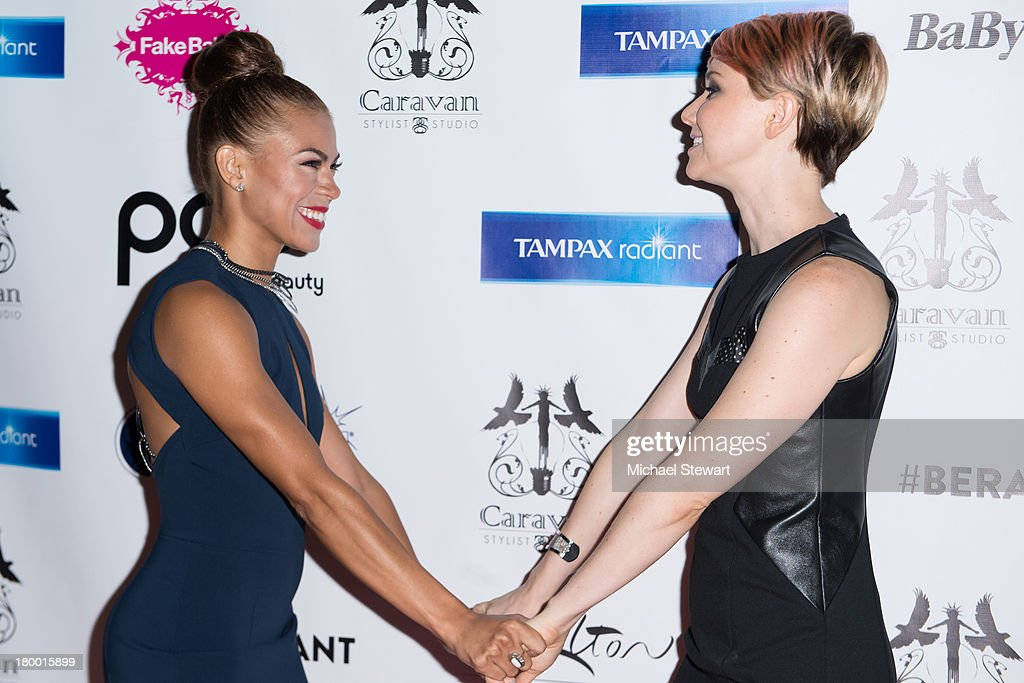 Actresses <a gi-track='captionPersonalityLinkClicked' href=/galleries/search?phrase=Toni+Trucks&family=editorial&specificpeople=676875 ng-click='$event.stopPropagation()'>Toni Trucks</a> (L) and <a gi-track='captionPersonalityLinkClicked' href=/galleries/search?phrase=Valorie+Curry&family=editorial&specificpeople=4070870 ng-click='$event.stopPropagation()'>Valorie Curry</a> attend Caravan Stylist Studio's Fashion Week Soiree at Carlton Hotel on September 7, 2013 in New York City.