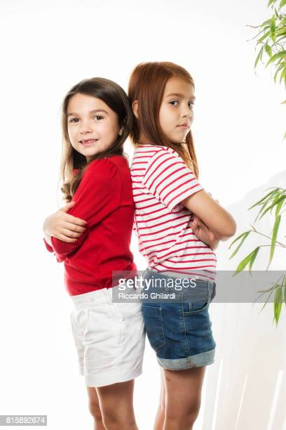 Actresses Valeria Cotto and Brooklynn Prince are photographed for Self Assignment on May 25 2017 in Cannes France