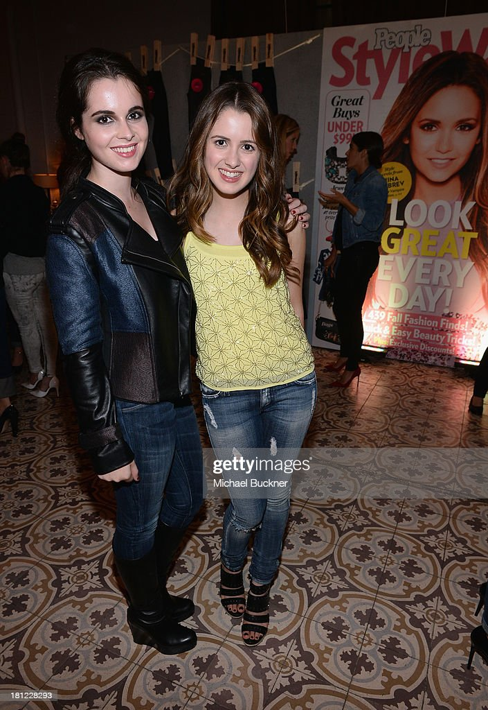 Actresses <a gi-track='captionPersonalityLinkClicked' href=/galleries/search?phrase=Vanessa+Marano&family=editorial&specificpeople=851394 ng-click='$event.stopPropagation()'>Vanessa Marano</a> and <a gi-track='captionPersonalityLinkClicked' href=/galleries/search?phrase=Laura+Marano&family=editorial&specificpeople=2546967 ng-click='$event.stopPropagation()'>Laura Marano</a> attend People StyleWatch Denim Awards presented by GILT at Palihouse on September 19, 2013 in West Hollywood, California.