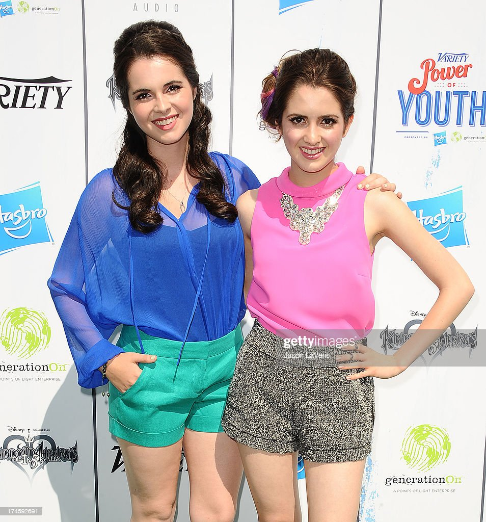 Actresses Vanessa Marano and Laura Marano attend Variety's 7th annual Power of Youth event at Universal Studios Hollywood on July 27, 2013 in Universal City, California.