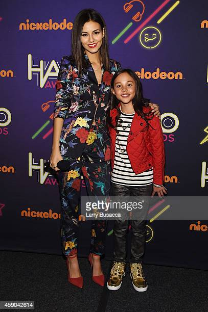 Actresses Victoria Justice and Breanna Yde attend the Sixth Annual Nickelodeon HALO Awards in New York City The hourlong concert special will...