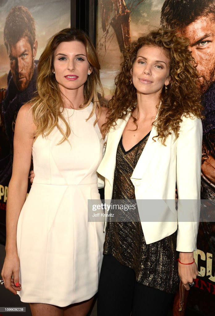 Actresses Viva Bianca (L) and <a gi-track='captionPersonalityLinkClicked' href=/galleries/search?phrase=AnnaLynne+McCord&family=editorial&specificpeople=4070122 ng-click='$event.stopPropagation()'>AnnaLynne McCord</a> attend the 'Spartacus: War Of The Damned' premiere at Regal Cinemas L.A. LIVE Stadium 14 on January 22, 2013 in Los Angeles, California.