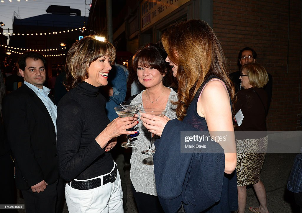 Actresses Wendie Malick, Valerie Bertinelli and Jane Leeves attend the after party for TV Land's 'Hot in Cleveland' Live Show on June 19, 2013 in Studio City, California. (TV Land's Hot in Cleveland goes LIVE at 10:00pm ET in the first LIVE broadcast in the channel's history. Betty White, Jane Leeves, Wendie Malick and Valerie Bertinelli are joined by guest stars William Shatner (Star Trek), Shirley Jones (The Partridge Family), Daniel Pudi (Community) and Brian Baumgartner (The Office).