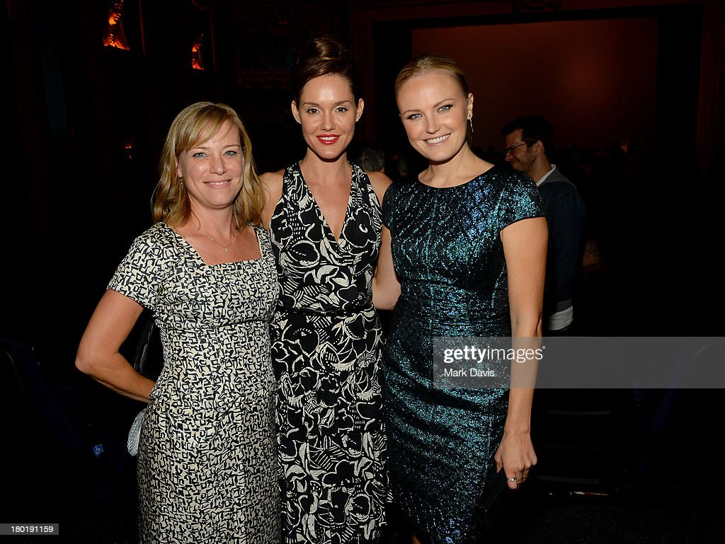 Actresses Zandy Hartig, Erinn Hayes and <a gi-track='captionPersonalityLinkClicked' href=/galleries/search?phrase=Malin+Akerman&family=editorial&specificpeople=598245 ng-click='$event.stopPropagation()'>Malin Akerman</a> attend the 'Childrens Hospital' and 'NTSF:SD:SUV' screening event at the Vista Theatre on September 9, 2013 in Los Angeles, California. 24049_001_MD_0216.JPG