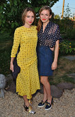 Actresses Zoe Kazan and Morgan Saylor attend the Rachel Comey presentation at Pioneer Works Center For Arts Innovation in Red Hook on September 4...