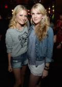 Actressess Ashley Hinshaw and Lily Rabe of Abercrombie Fitch's 2013 Stars on the Rise celebrated this year's back to school campaign on July 11th at...