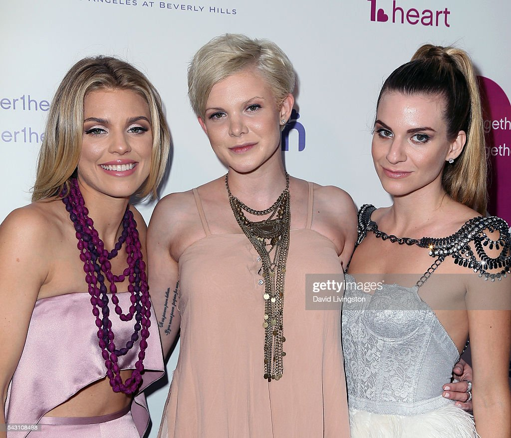 Actresses/sisters <a gi-track='captionPersonalityLinkClicked' href=/galleries/search?phrase=AnnaLynne+McCord&family=editorial&specificpeople=4070122 ng-click='$event.stopPropagation()'>AnnaLynne McCord</a>, <a gi-track='captionPersonalityLinkClicked' href=/galleries/search?phrase=Angel+McCord&family=editorial&specificpeople=4586692 ng-click='$event.stopPropagation()'>Angel McCord</a> and <a gi-track='captionPersonalityLinkClicked' href=/galleries/search?phrase=Rachel+McCord&family=editorial&specificpeople=5502448 ng-click='$event.stopPropagation()'>Rachel McCord</a> attend together1heart launch party hosted by <a gi-track='captionPersonalityLinkClicked' href=/galleries/search?phrase=AnnaLynne+McCord&family=editorial&specificpeople=4070122 ng-click='$event.stopPropagation()'>AnnaLynne McCord</a> at Sofitel Hotel on June 25, 2016 in Los Angeles, California.