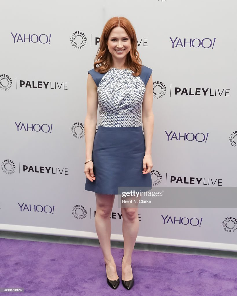 Actress/event moderator <a gi-track='captionPersonalityLinkClicked' href=/galleries/search?phrase=Ellie+Kemper&family=editorial&specificpeople=6123842 ng-click='$event.stopPropagation()'>Ellie Kemper</a> arrives at The Paley Center for Media hosts 'Paleylive: Carol Burnett, Her Lost Episodes' held at The Paley Center for Media on September 16, 2015 in New York City.