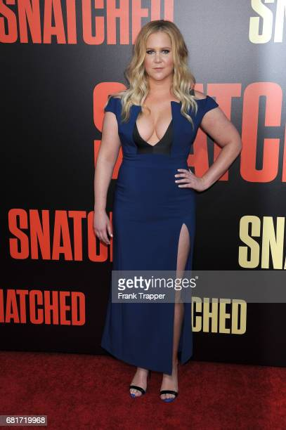 Actress/executive producer Amy Schumer arrives at the premiere of 20th Century Fox's 'Snatched' held at the Regency Village Theatre on May 10 2017 in...