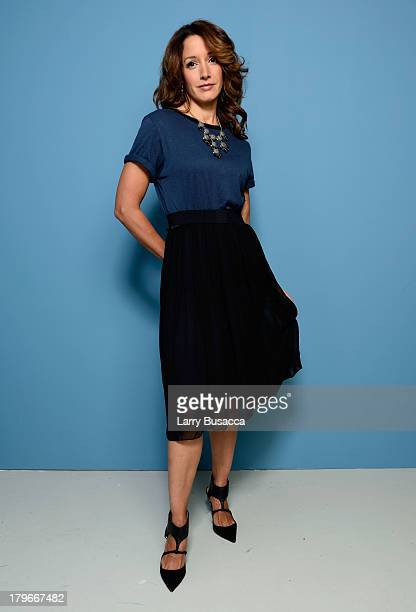 Actress/Executive Producer Jennifer Beals of 'Cinemanovels' poses at the Guess Portrait Studio during 2013 Toronto International Film Festival on...