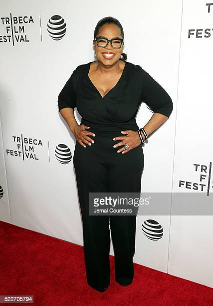 Actress/executive producer Oprah Winfrey attends the Tribeca Tune In 'Greenleaf' Screening at John Zuccotti Theater at BMCC Tribeca Performing Arts...