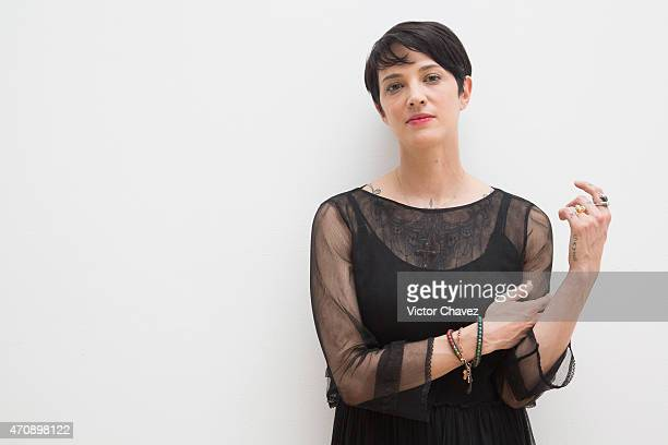 Actress/film director Asia Argento attends the Riviera Maya Film Festival 2015 'Incomprendida' opening gala at Hotel Yucatan Platinum Princess on...