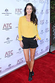 Actress/filmmaker Esther Anderson arrives at the opening night of Australian Theatre Company's 'Ruben Guthrie' at The Matrix Theatre on June 7 2016...
