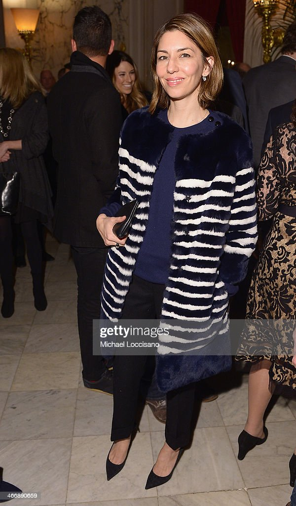 Actress/filmmaker Sofia Coppola attends the after party following the 'Monuments Men' premiere at The Metropolitain Club on February 4, 2014 in New York City.