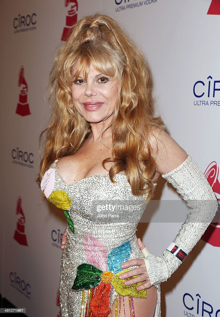 Actress/guitarist Charo attends The 14th Annual Latin GRAMMY Awards after party at the Mandalay Bay Events Center on November 21 2013 in Las Vegas...