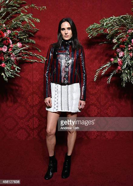 Actress/honoree Jennifer Connelly attends the 20th Annual Artwalk NY at Metropolitan Pavilion on October 30 2014 in New York City