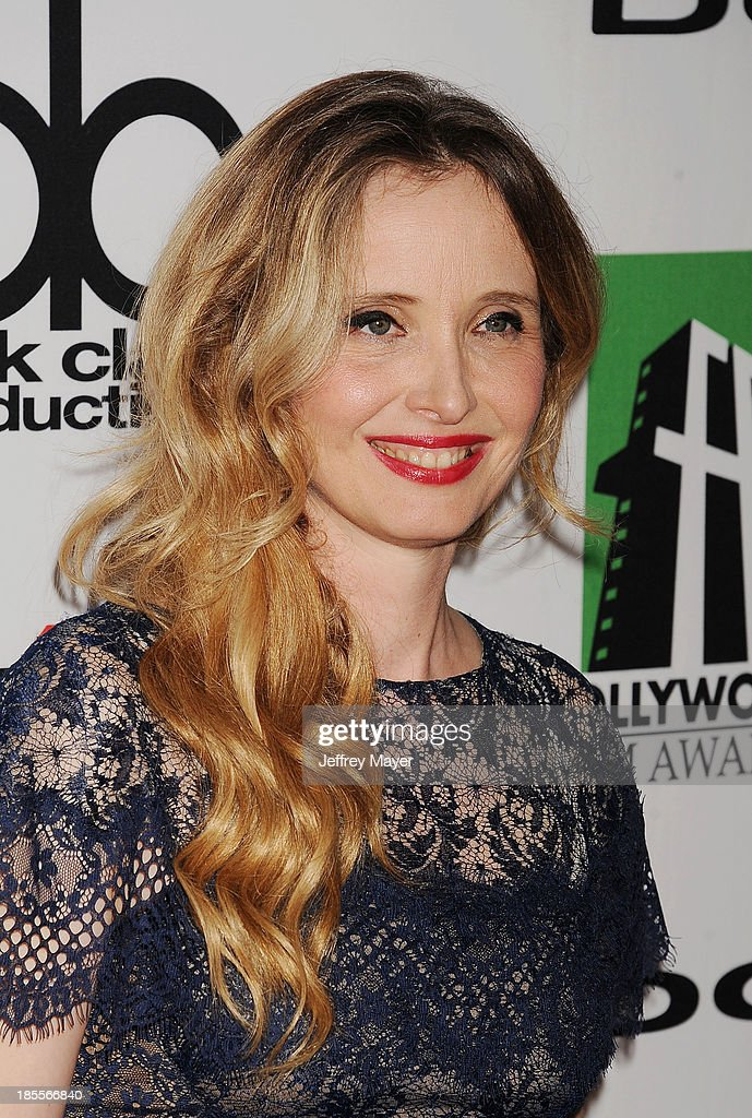 Actress/honoree <a gi-track='captionPersonalityLinkClicked' href=/galleries/search?phrase=Julie+Delpy&family=editorial&specificpeople=201914 ng-click='$event.stopPropagation()'>Julie Delpy</a> arrives at the 17th Annual Hollywood Film Awards at The Beverly Hilton Hotel on October 21, 2013 in Beverly Hills, California.