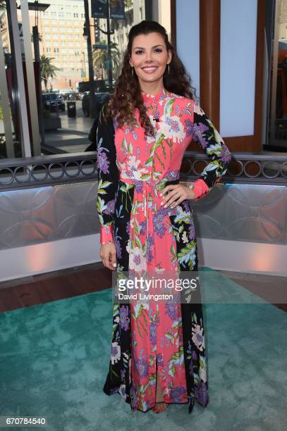 Actress/host Ali Landry poses at Hollywood Today Live at W Hollywood on April 20 2017 in Hollywood California