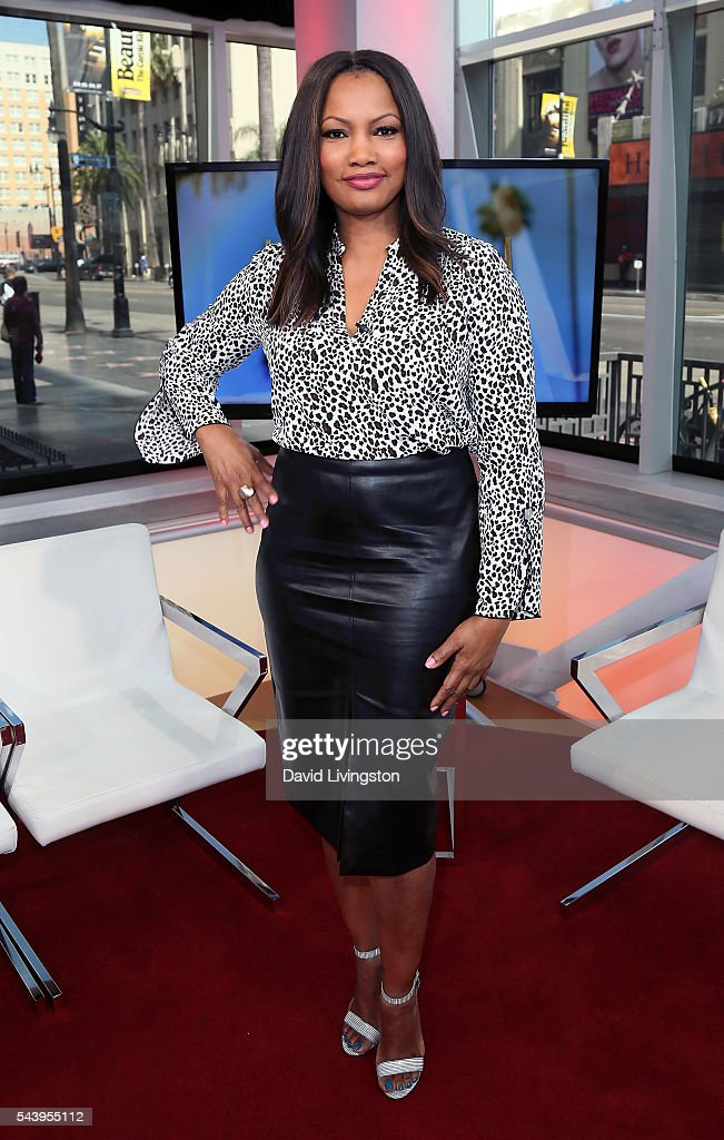 Actress/host <a gi-track='captionPersonalityLinkClicked' href=/galleries/search?phrase=Garcelle+Beauvais&family=editorial&specificpeople=203112 ng-click='$event.stopPropagation()'>Garcelle Beauvais</a> poses at Hollywood Today Live at W Hollywood on June 30, 2016 in Hollywood, California.