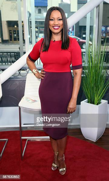 Actress/host Garcelle Beauvais poses at Hollywood Today Live at W Hollywood on August 9 2016 in Hollywood California