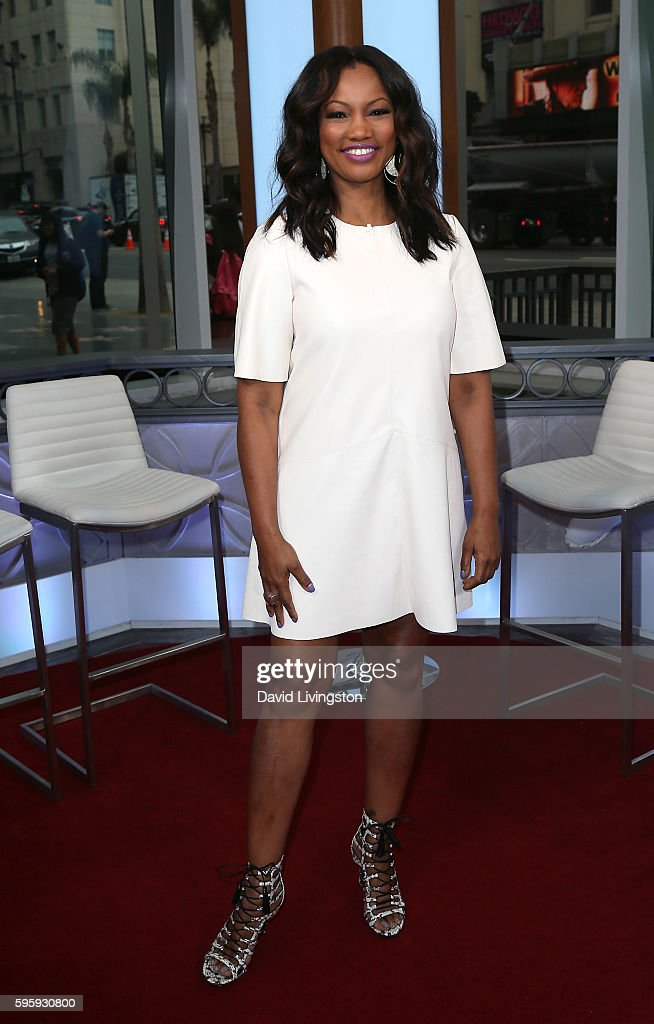 Actress/host Garcelle Beauvais poses at Hollywood Today Live at W Hollywood on August 26 2016 in Hollywood California