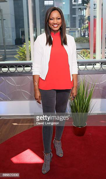 Actress/host Garcelle Beauvais poses at Hollywood Today Live at W Hollywood on September 1 2016 in Hollywood California